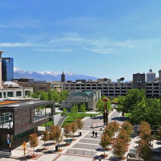 Gallivan Center Plaza