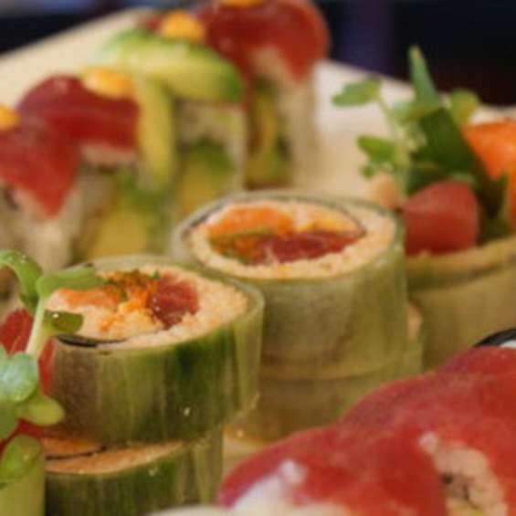 Sushi at Naked Fish Japanese Bistro