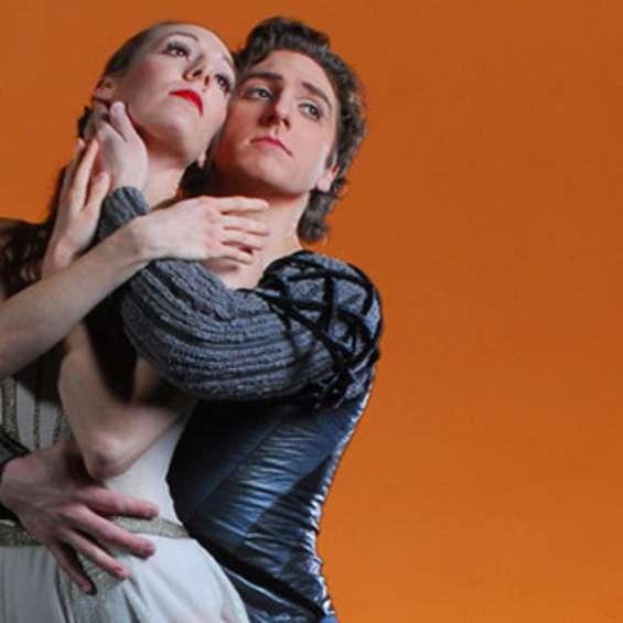Ballet West's Annie Breneman and Christopher Ruud in