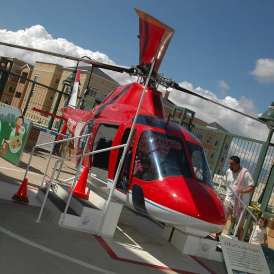Helicopter at Discovery Gateway Children's Museum