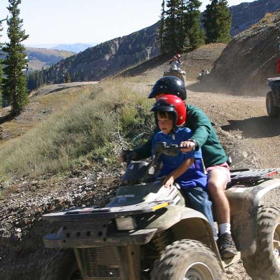 ATV Riding at Snowbird