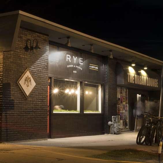 Rye Diner Exterior