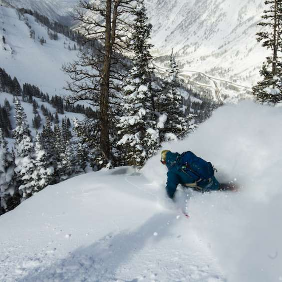 Photog - Eric Sales - Ben Wheeler at Snowbird