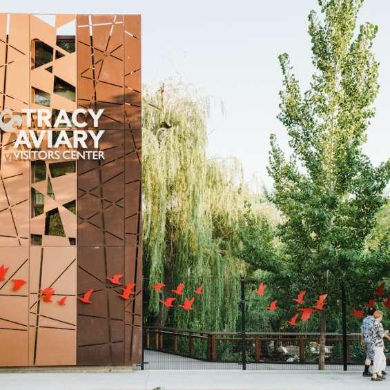 Tracy Aviary Facade