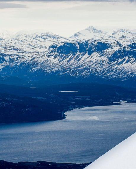 Ski touring in Lyngen