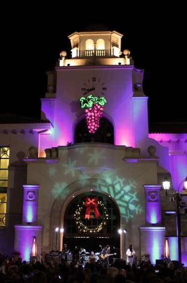 New Year's Eve Grape Drop in Old Town Temecula