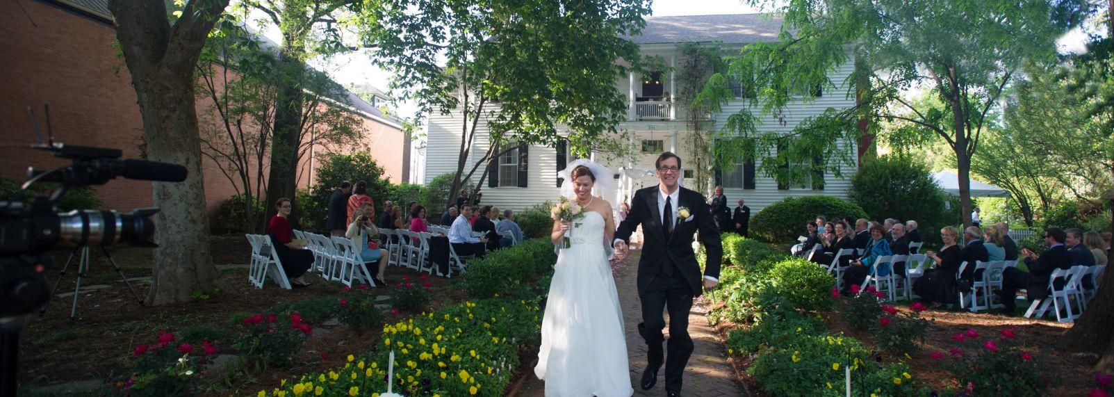 Wedding at Haywood Hall