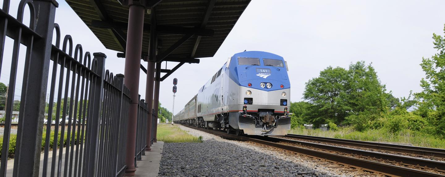 getting here amtrak johnston county nc