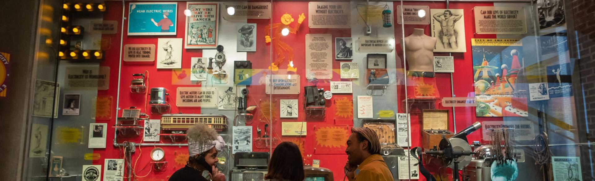 Visitors to the Grand Rapids Public Museum