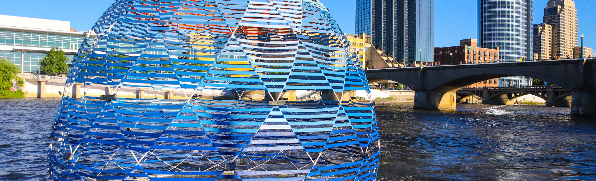 Harvest Dome 3.0 created by SLO Architecture for ArtPrize 2018
