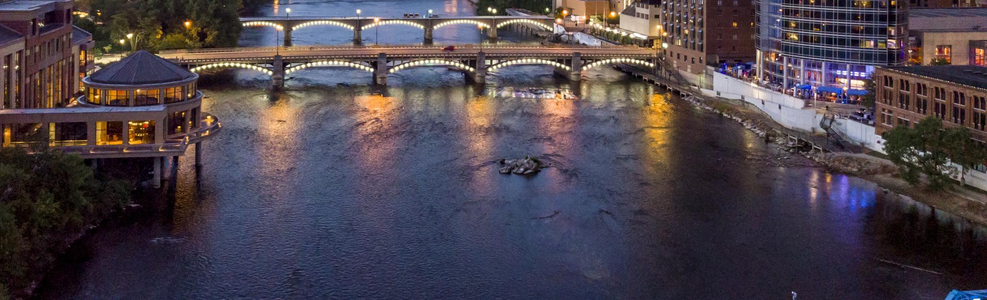 Brian Kelly - Nighttime Skyline Photo