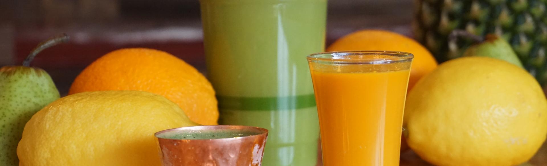 Fresh juice at Sip