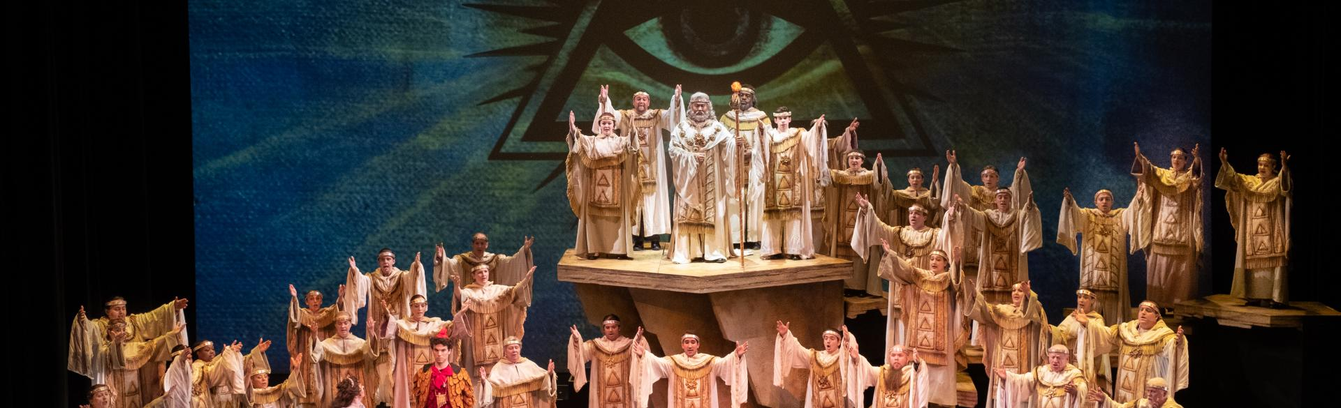 The Magic Flute performance photo by Grand Lubell courtesy of Toledo Opera
