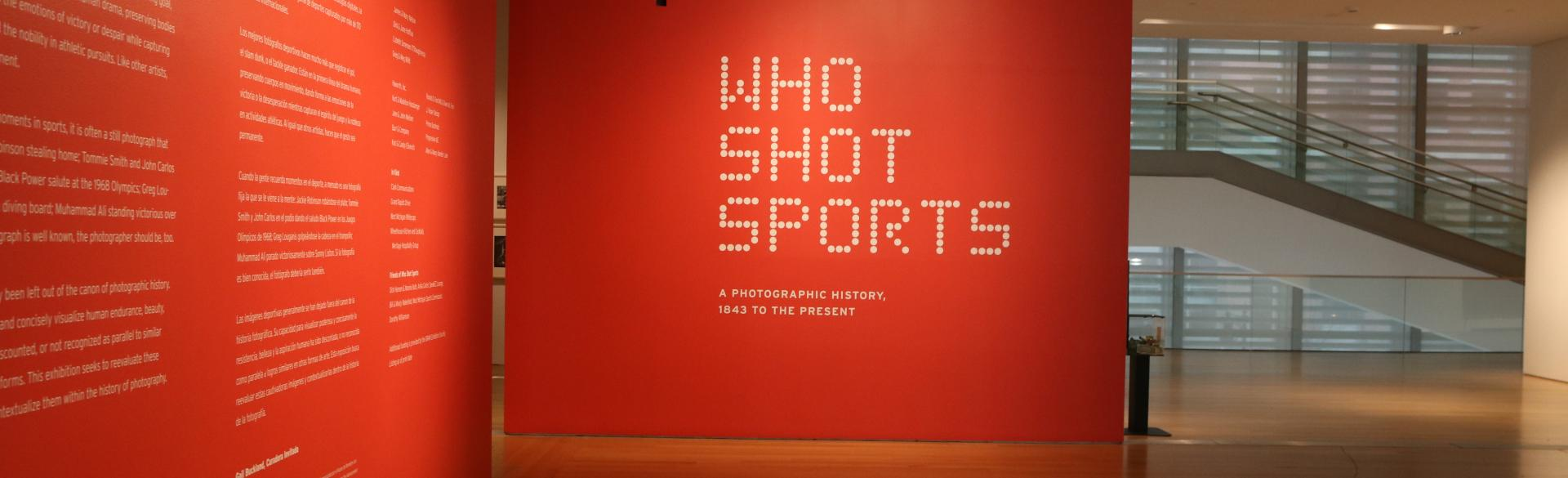 Who Shot Sports exhibition in Grand Rapids