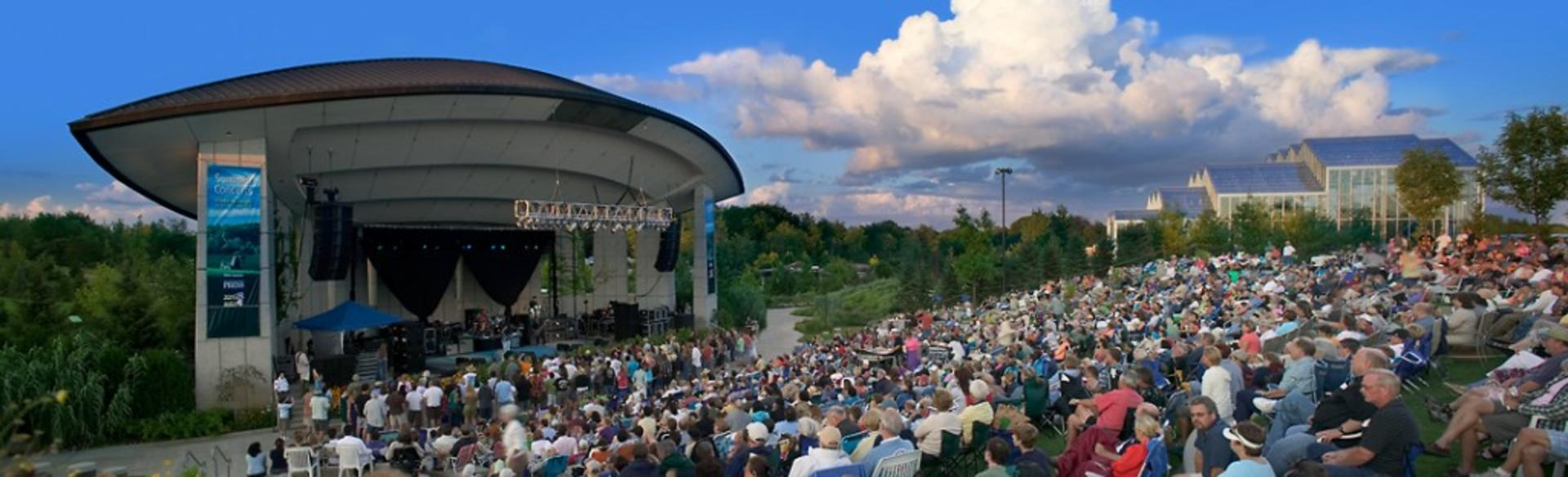 Summer Concert Series at Meijer Gardens Crowds