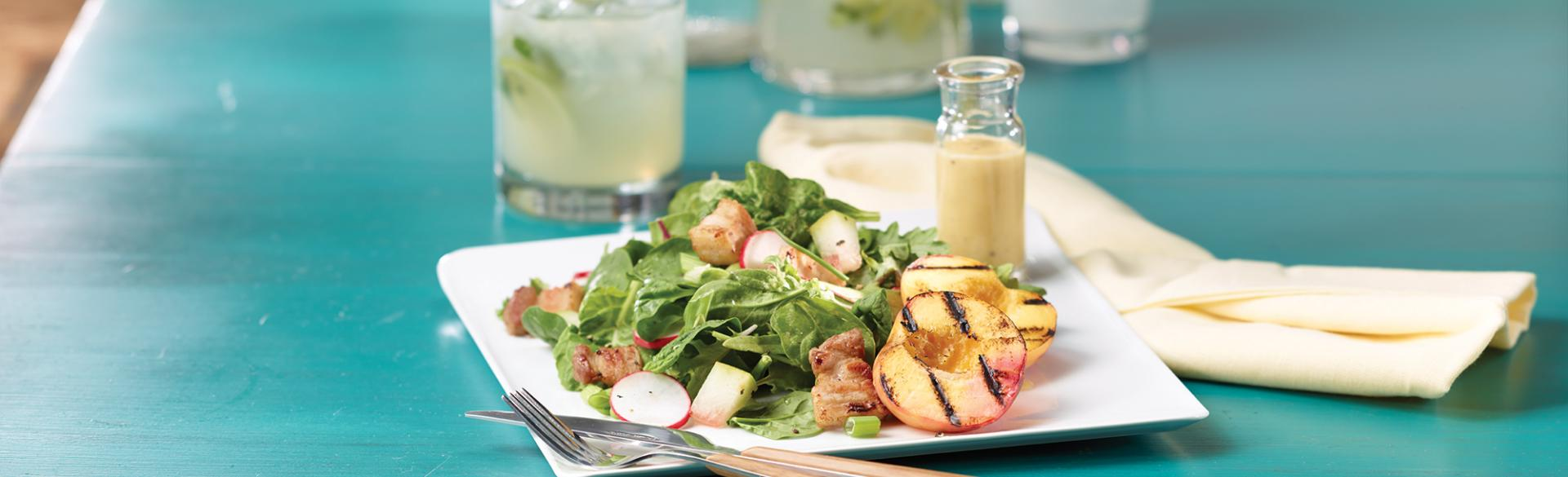Food - Peach Salad