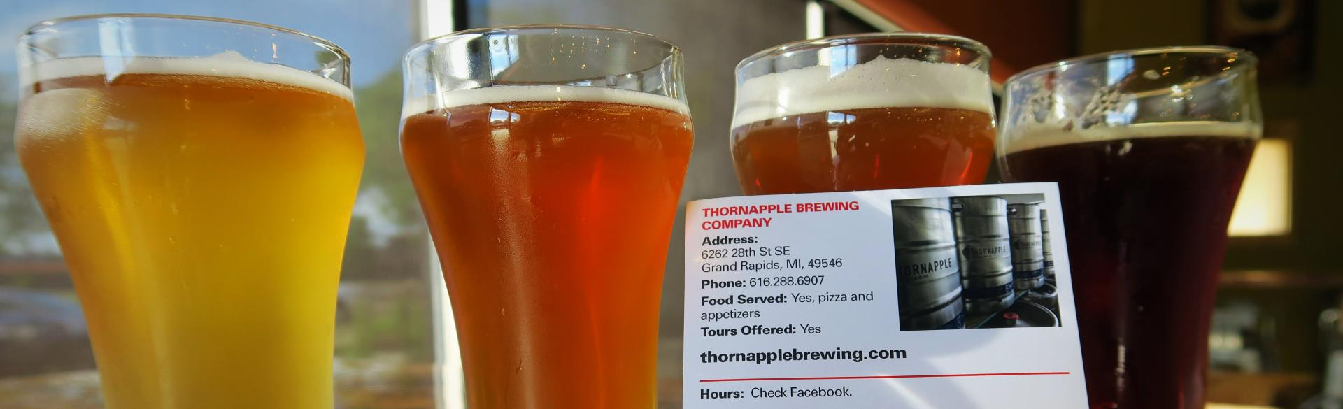 Breweries to Visit this Fall: Thornapple Brewing