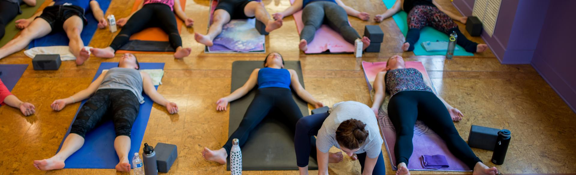 Fact: Funky Buddha Yoga Hothouse classes are taught in 95-degree studios.
