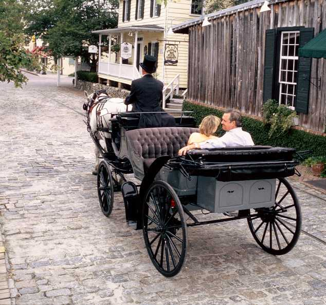 Couple in Carriage