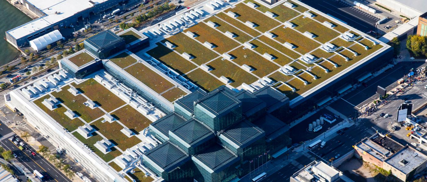 Javits Center Green Roof