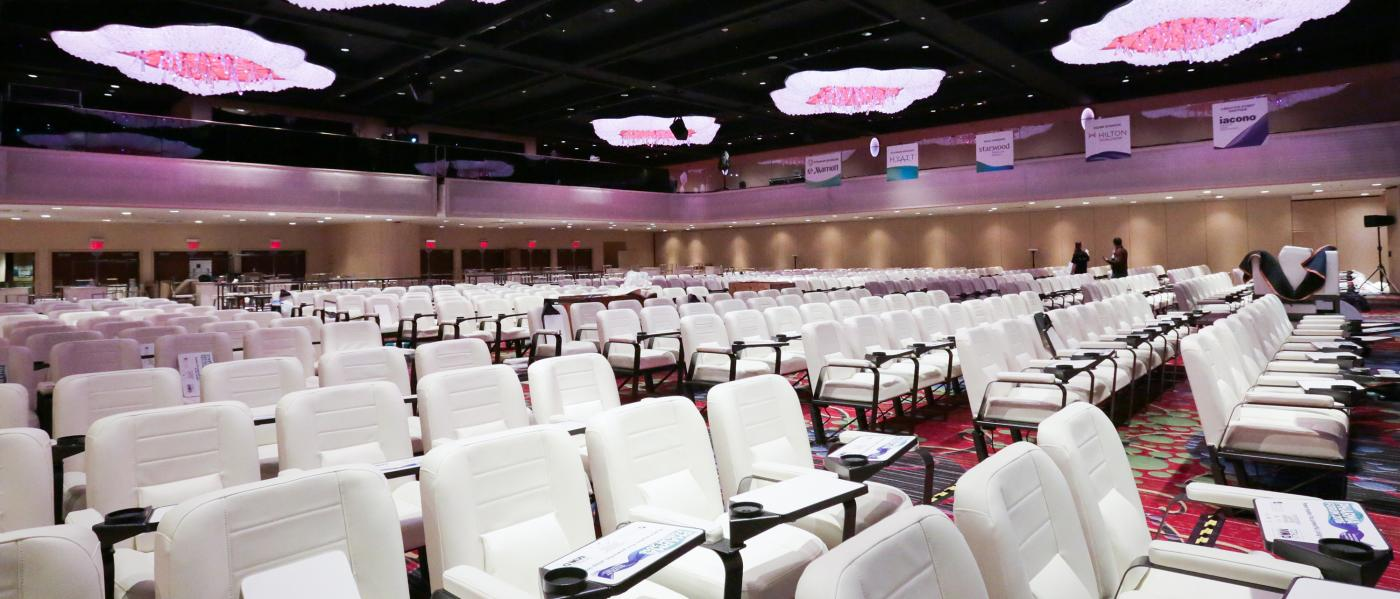 New York Marriott Marquis, interior, ballroom