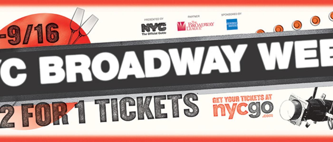 NYC Broadway Week Creative