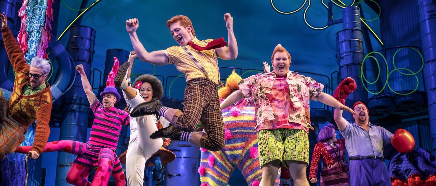 Spongebob Squarepants the musical, production still