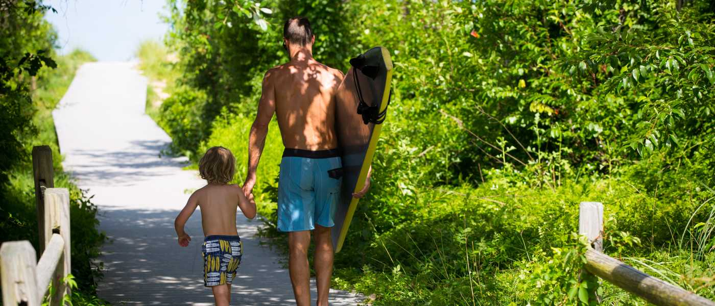 Surfing With Kids
