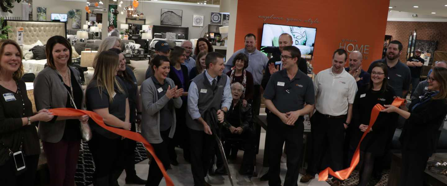 Ribbon Cutting - Ashley Homestore