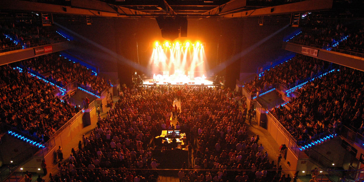 Crowded Theatre At Hard Rock Live In Ft. Lauderdale FL