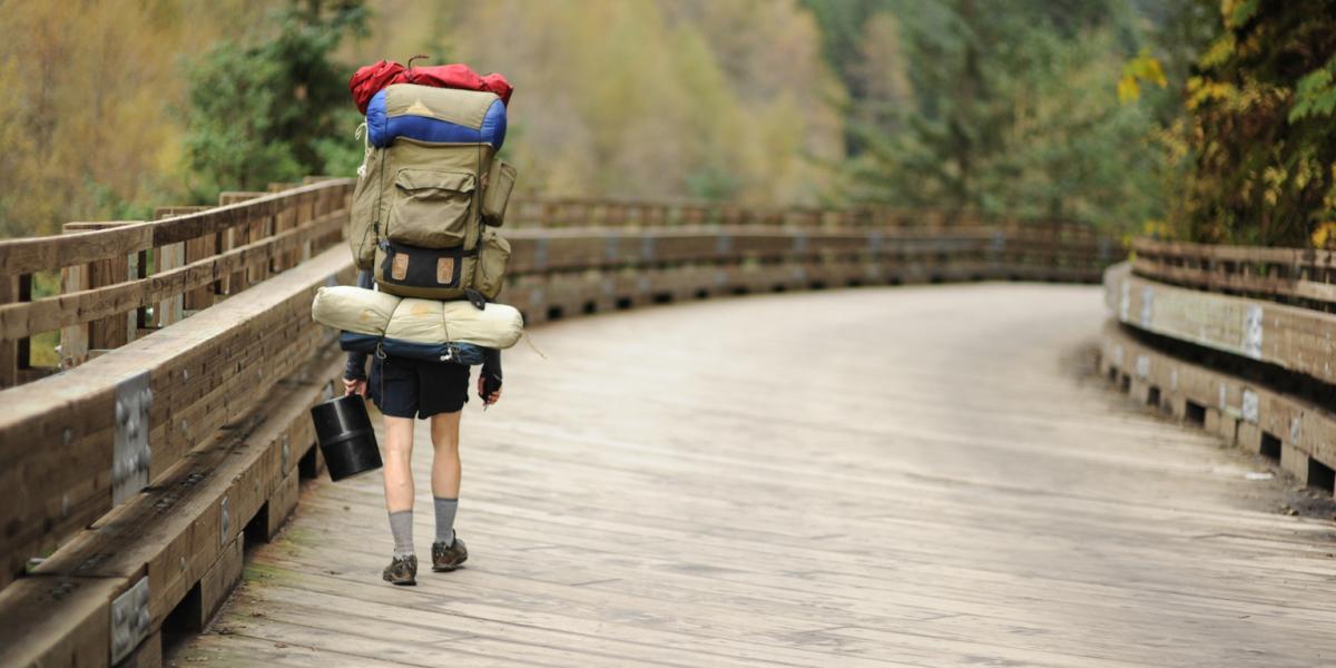 Hiking a Boardwalk Trail