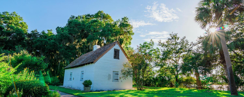 Hamilton Plantation Slave Cabin