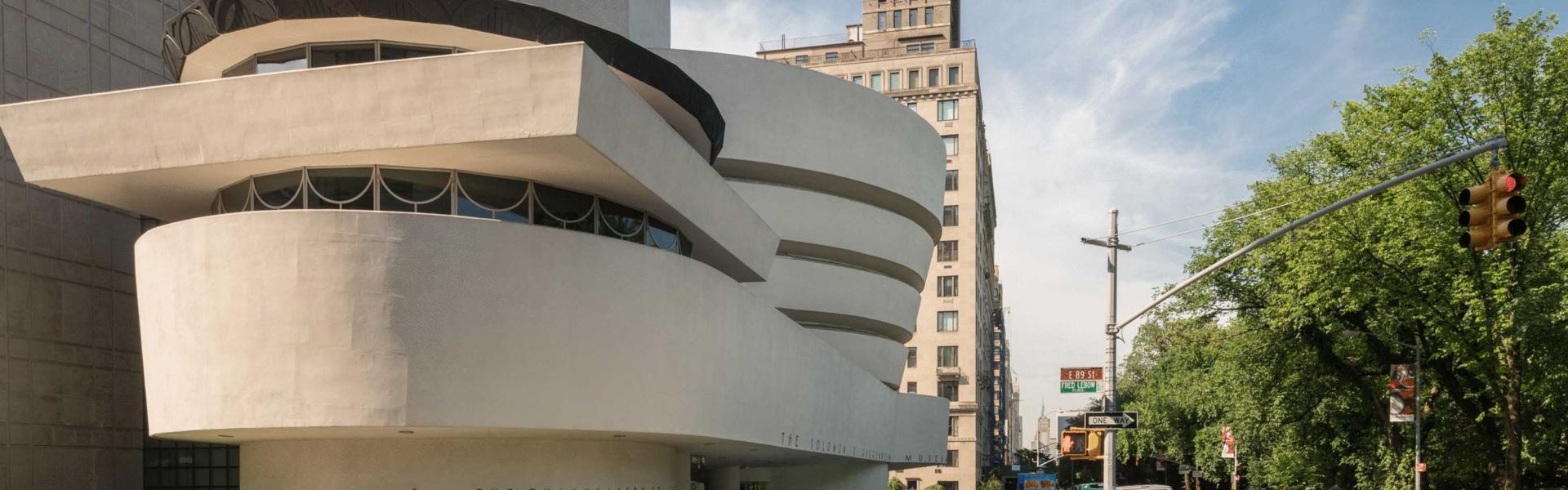 Guggenheim Museum, Upper East Side, Manhattan, NYC, photo David Heald Copyright Solomon R Guggenheim Foundation