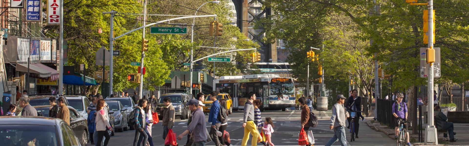 Chinatown Manhattan, Street