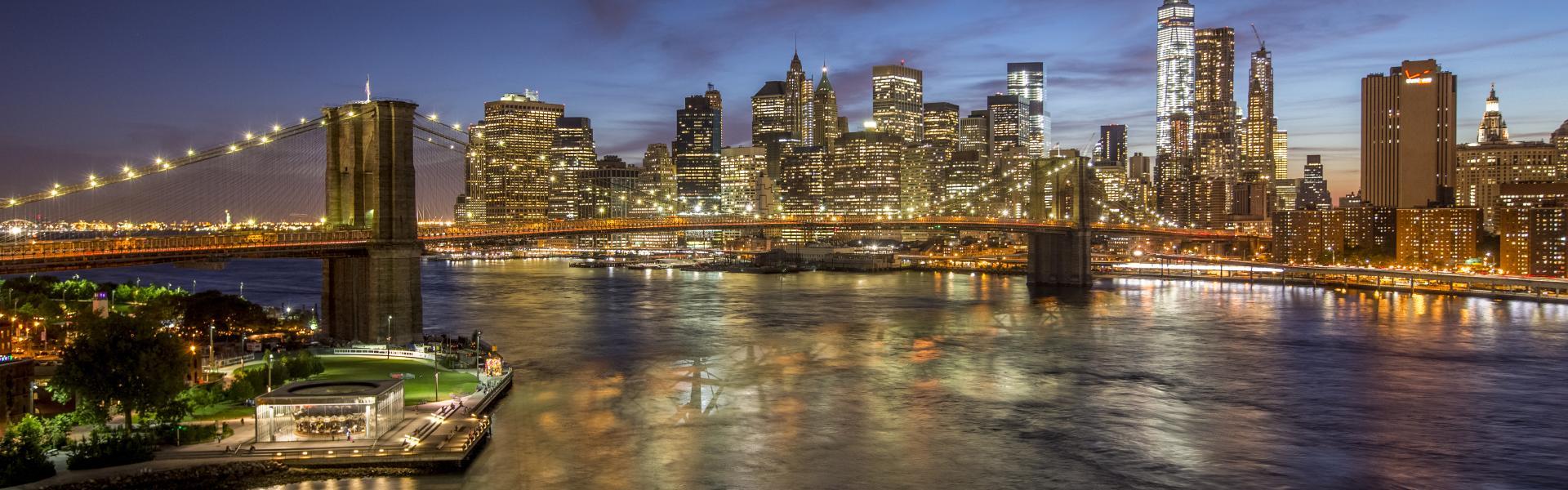 Brooklyn Bridge, Manhattan skyline, brooklyn, Tom Perry