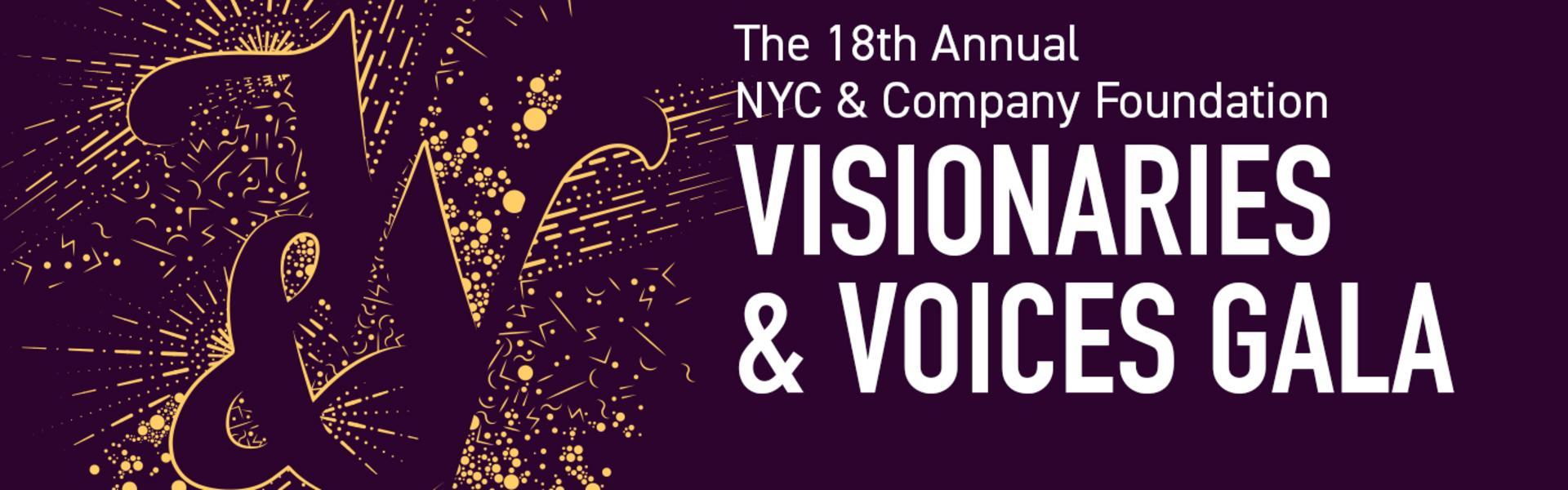 Visionaries & Voices Gala Header