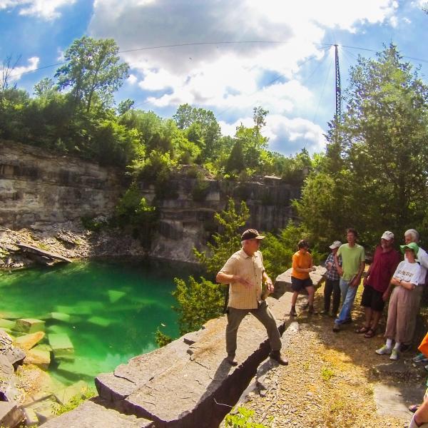 Furst Limestone Quarry Tour