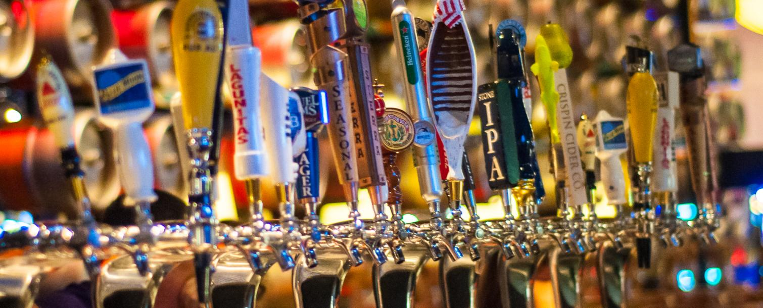 Beers on tap in Las Vegas Nevada