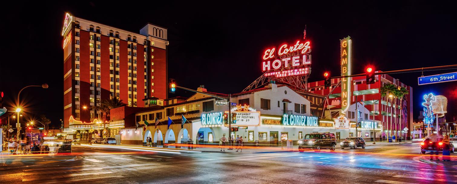 El Cortez Hotel & Casino in Downtown Las Vegas,