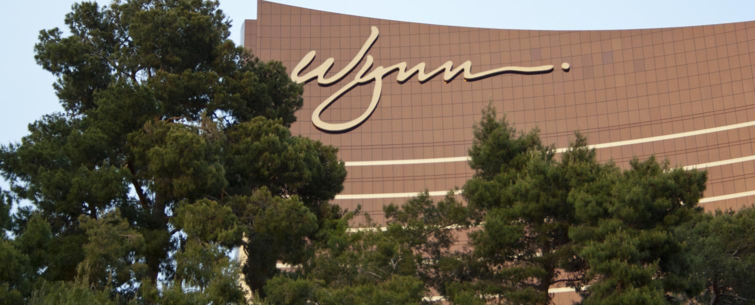 Facade of the Wynn Resort and Casino Las Vegas, Nevada