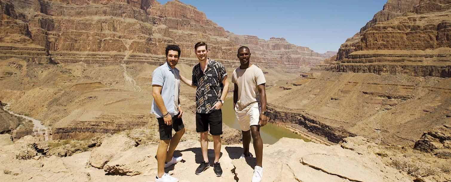 Three Guys at the Grand Canyon