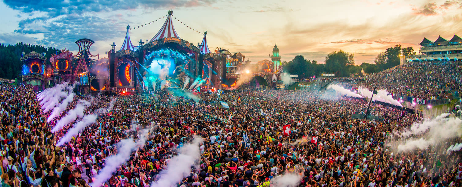 Tomorrowland electronic dance music festival