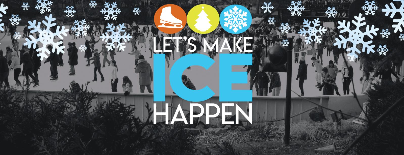 Ice Rink Sponsorship Flyer