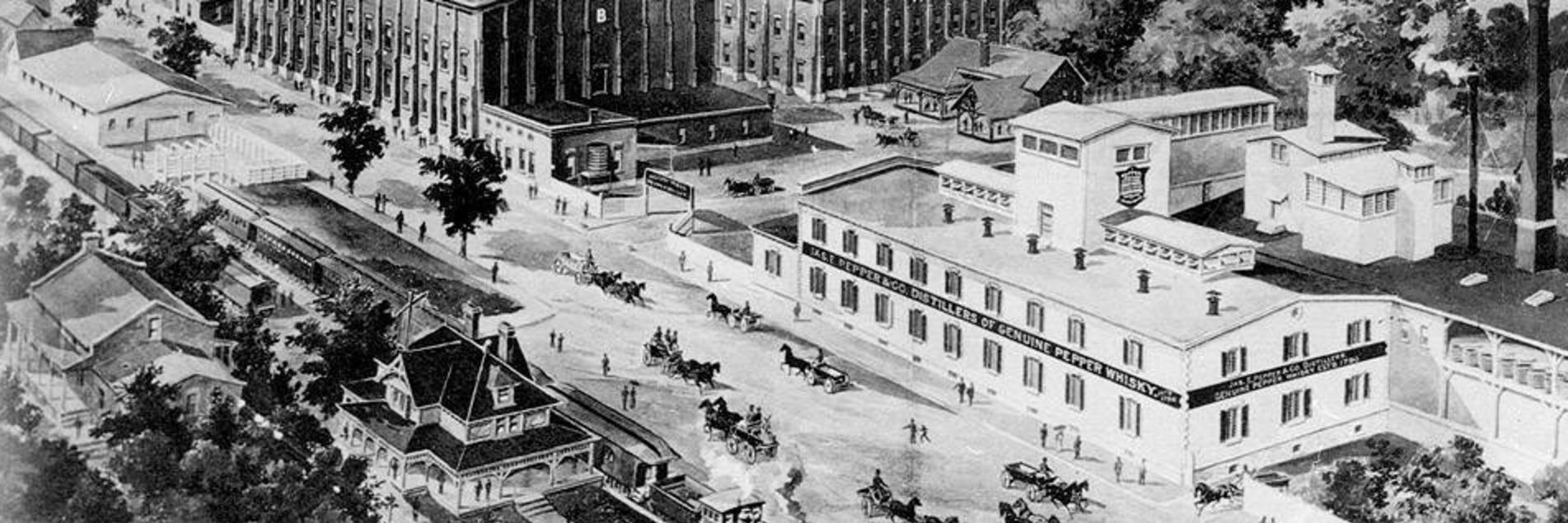 Historic Bourbon Distillery District