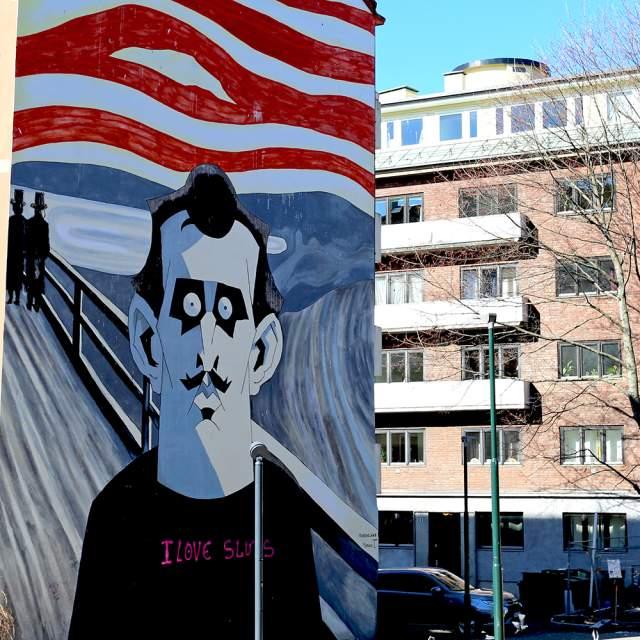"""Munch (2015)"" by Steffen Kverneland: Tøyen, Oslo"