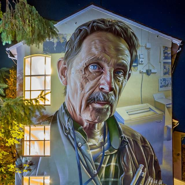 Street art by SMUG: Stavanger