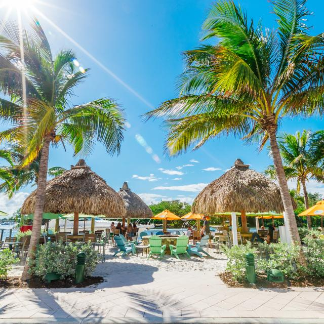 Margaritaville 5 O'clock Somewhere Tiki Huts