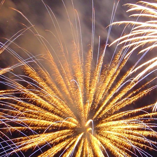 Celebration Fireworks over Greater Fort Lauderdale