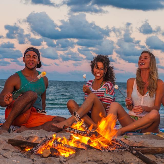millennials beach