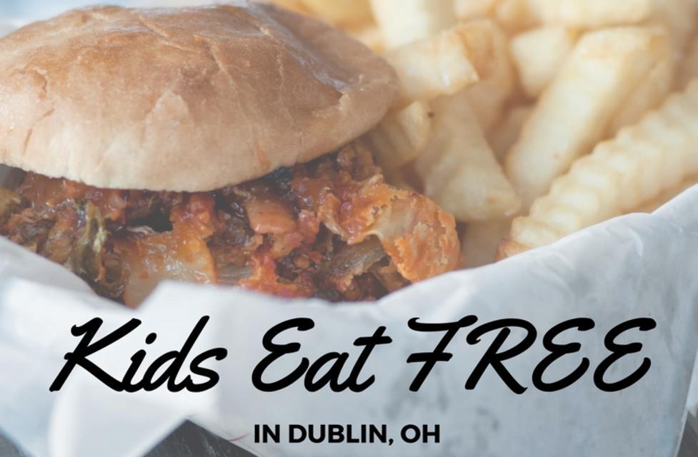Kids Eat Free In Dublin